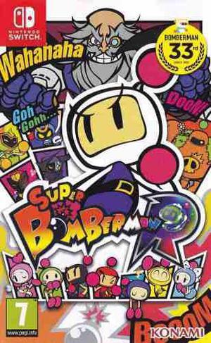 Super Bomberman R - Nintendo Switch - Fisico Nuevo Sellado