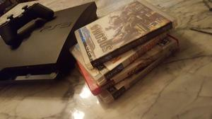 VENDO PLAY STATION GB CON 4 JUEGOS FISICOS