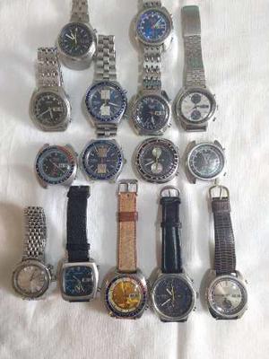 Vendo Lote De 15 Relojes Seiko Cronometro