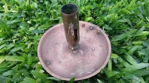 Antigo candelabro en bronce