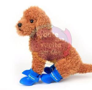 Botas De Lluvia Impermeables/zapatos Para Perros S/m/l