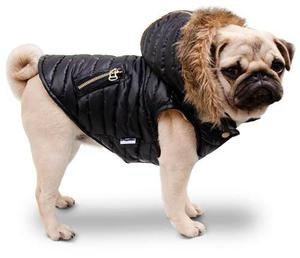 Chaleco Inflable Con Capucha Desmontable Para Perros