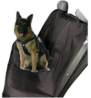 Combo Funda Para Asientos + Cinturón De Mascotas Full