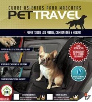 Funda Cubre Asiento Para Mascotas Pet Travel Full. Zona Sur!
