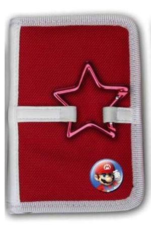 Funda Para Mini Estuche Para Nintendo Ds / Lite Hebilla Roj