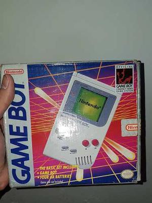 Game Boy Classic En Caja + 3 Juegos