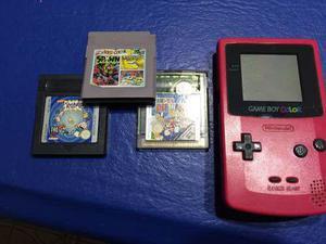 Game Boy Color +3 Juegos