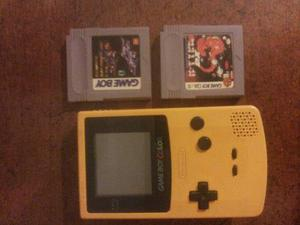 Game Boy Color Con 2 Juegos