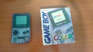 Game Boy Color En Buen Estado En Caja Con Manuales