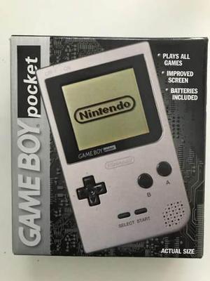 Game Boy Pocket Cerrada Y Sellada De Coleccion - Nintendo