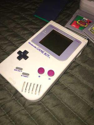Game Boy Traída De España. Con Cámara Y Parlante. 4