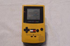 Gameboy Color Yellow Tommy Hilfiger Edition Muy Buen Estado