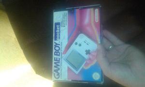 Gameboy Pocket En Caja Con Manuales!