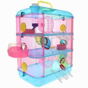 Hamstera 3 Pisos Completa - Envíos Cap Fed - Pet Shop Beto