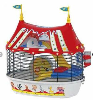 Hamstera Jaula Hamster Circus Fun Ferplats Pet Shop Beto