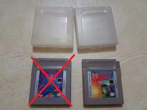 Juegos Game Boy F1 Race Y Tetris