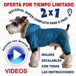 Mega Kit Imprimible Moldes Y Patrones Ropa Para Perros + 2x1