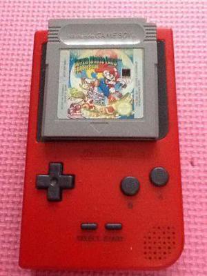 Nintendo Game Boy + Juego Super Mario Land Original