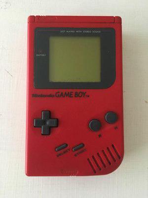Nintendo Game Boy Original Color Rojo Y/o Gris