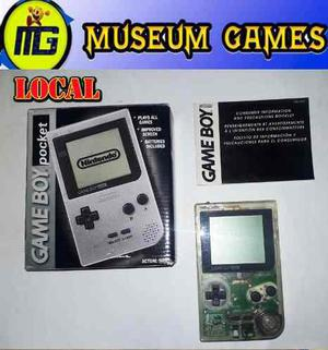 Nintendo Game Boy Pocket En Caja Funcionando Local