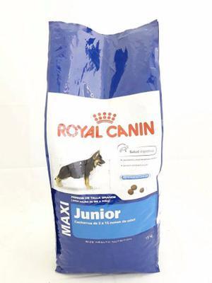 Royal Canin Maxi Junior 15 Kg Perros Cachorros Envíos