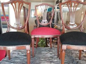 6 sillas estilo ingles palmeta respaldo petit posot class - Sillas estilo ingles ...