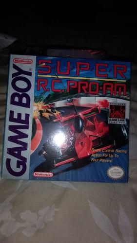 Super Rc Pro Am Game Boy Original Nuevo