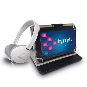 Tablet Tyrrell 7 Pulg Quadcore + Auricular + Funda De Regalo