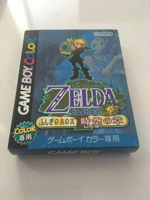 The Legend Of Zelda: Oracle Of Ages Japones Completo