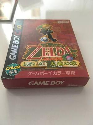 The Legend Of Zelda: Oracle Of Seasons Japones Completo