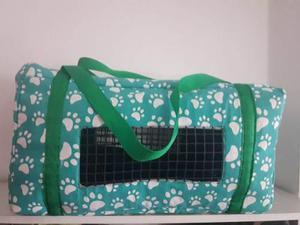 Transportador Bolso Tela Para Gatos Y Perros