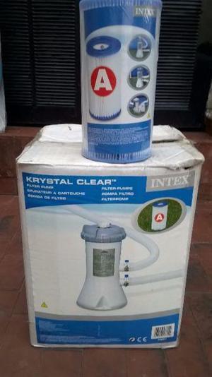 Vendo bomba Filtro Intex 3785 Lts/h para pileta de lona
