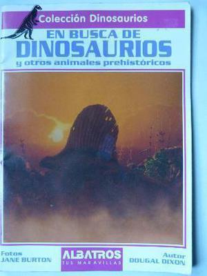 en busca de dinosaurios - ed. albatros (1994)