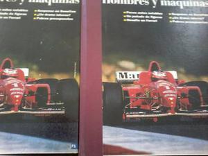 2 Libros - Historia De Automovilismo Formula 1