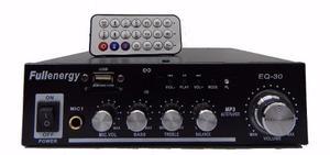 Amplificador Full Energy Eq-30 Reproductor De Audio 200w Max