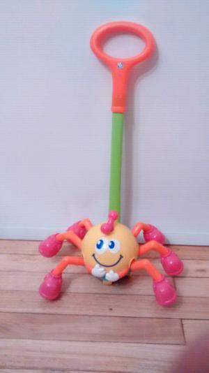 Araña de empuje B Kids con sonido y movimiento juguete