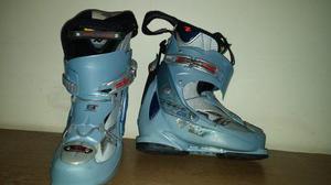 Botas De Ski Outlast Azules - Talle 38 - Muy Buen Estado