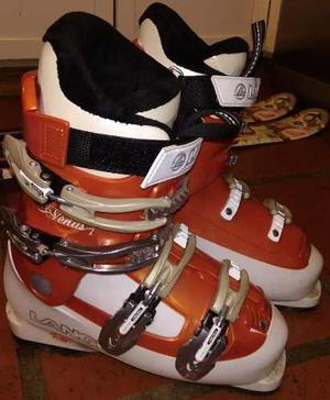 Botas Ski Mujer Lange Talle 35-36, Como Nuevas. Muy Lindas!