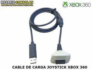 Cable Usb Carga Y Juega Para Joystick Wireless Xbox 360