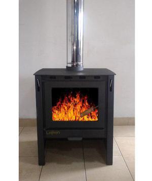 Lepen Calefactor A Leña 13000 Cal Con Salidas De