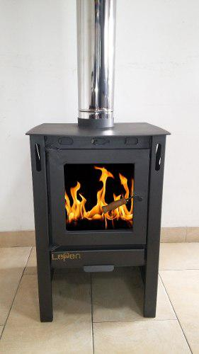 Lepen Calefactor A Leña -9000 Kcal, Estufa A Leña