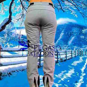 Pantalón Ski Nieve Impermeable Mujer Entallado Talle Xs Y S
