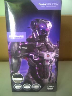 Placa De Video Sapphire Radeon Rx 2GB Dual-X Completa!!