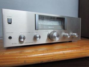 Sony Ta 212 Amplificador Galermoaudio
