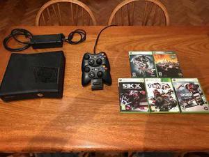 Xbox 360 Live Impecable! + Juegos De Regalo