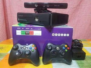 Xbox 360 S 250 Gb + Kinect Original Casi Sin Uso Oportunidad