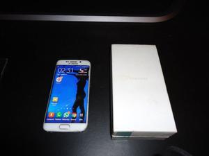celular s6 edge 32 gb blanco pantlla rota no se nota mucho!