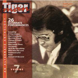 elvis presley - cd - tiger man vol 7(studio / soundboard)