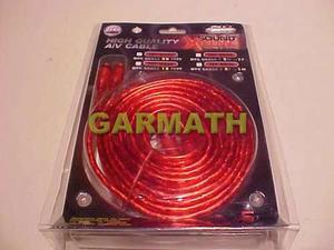 Cable 2 Rca 2 Rca Cristal Libre Oxigeno Rem Audiocar Garmath