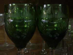 Juego de copas de 25 piezas - talladas al àcido Art 140